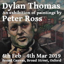 Dylan Thomas - An exhibition of paintings by Peter Ross